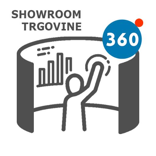 360° 3D virtualni ogledi showroom, trgovine